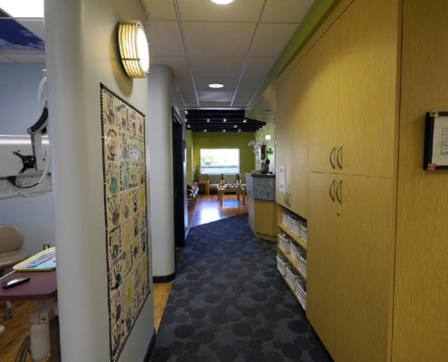 Dental Exam Rooms For Kids - Dr. Barrera Campbell CA Pediatric Dentist