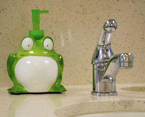 Frog Soap Dental Office - Dr. Barrera Campbell CA Pediatric Dentist
