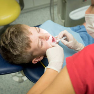Pediatric root canal on baby teeth near San Jose, CA.